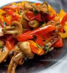 Vegetarian Bell Pepper Recipe