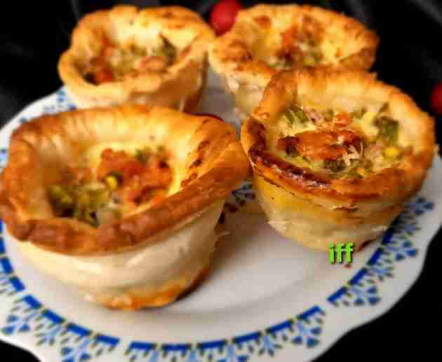 Mini Vegetable Pot Pie
