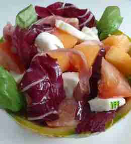 melon prosciutto salad recipe