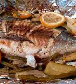 Sea Bream In Foil