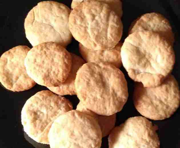 Simple butter cookies recipe