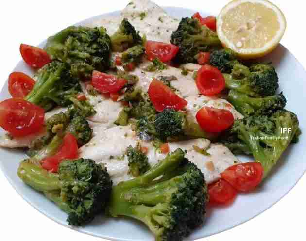 Poached Cod Fillet Recipe